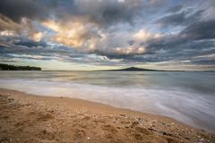 The Constant Companion (duncan_mclean) Tags: seascape landscape island waves auckland lee devonport rangitoto cheltenhambeach leefilters littlestopper