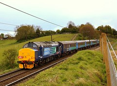 The Smart Set at Brantham (Chris Baines) Tags: mark express each coaches 2c drs 37419 brantham