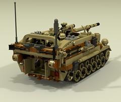 """Ballista"" 106mm Self Propelled Artillery (-Lee Barton-) Tags: tank lego artillery spg ldd ballista selfpropelledgun lddtopovray opencabin"