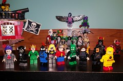 new kids on the block (juanrg9009) Tags: dc lego minifigs superheroes marvel christo christocustoms