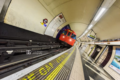 """Thrills Like"" Waterloo Underground Station, London, UK (davidgutierrez.co.uk) Tags: street city uk greatbritain travel light red england people urban abstract streets color colour london art public colors beautiful station sign architecture train buildings underground person photography lights nikon europe cityscape colours photographer unitedkingdom britain vibrant interior capital transport tube arts platform vivid structure southbank waterloo londres driver tubestation londonunderground colourful londra tfl centrallondon  undergroundstation londyn ultrawideangle    waterlooundergroundstation londonboroughoflambeth d810 nikond810 1424mm waterlootubestation davidgutierrez londonphotographer afsnikkor1424mmf28ged londonundergroundsigns transportforlondontfl davidgutierrezphotography"