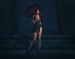 508  Lost Soul (Sannita_Cortes) Tags: fashion female sl secondlife virtual styles secrets virtualworld slink exxess darkpassion virtualfashion darksideevent xxxtasi