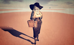 Ten (Lalie Sorbet SL) Tags: portrait woman hat scenery expression femme avatar sl fantasy secondlife chapeau imagination paysage sim srie serie chouchou metaverse incarnation fantasme