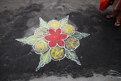 (Rick Elkins Trip Photos) Tags: india frenchquarter pondicherry kolam puducherry