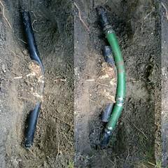 #lnk #lincolnunderground #rainbird #sprinklers #roots #waterline #makeitright #beforeandafter (Lincoln Underground Sprinkler Systems Inc.) Tags: underground systems sprinkler lincoln inc instagram