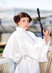 Star Wars (Sandman-AC) Tags: starwars cosplay princessleia leia leiaorgana romics