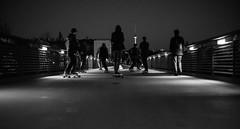 untitled (monomarv) Tags: street camera wild blackandwhite berlin mono blackwhite skate skatergonewild
