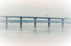 Spans (andrey.senov) Tags: russia kostroma province spring april river volga        fujifilm fuji xa1 fujifilmxa1 bridge  45faves