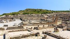 L'agora - Cit grecque -Kamiros (yann.dimauro) Tags: gr rodos grce egeo