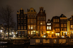 Herengracht by night (Emiel Dekker) Tags: longexposure nightphotography netherlands amsterdam night evening sony nederland streetphotography avond canalhouse a57 amsterdambynight grachtenpand