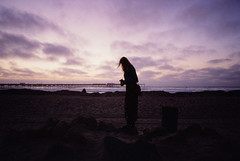 Mood (Art by 2wenty) Tags: sunset sky beach colors clouds analog pier mood moody sandiego pastel 28mm slidefilm contax 35mmfilm g2 contaxg2 g28 2wenty victoriasiemer witchoria