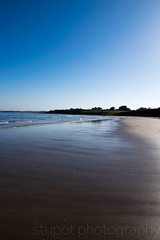 Reflections on the Beach (Stuart Tarn) Tags: spring unitedkingdom northumberland alnmouth northeast