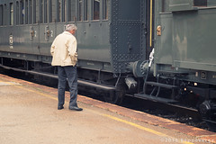 Treno Storico Valsesia (beppeverge) Tags: train wagon carriage loco historic railwaystation rails locomotive treno binari rotaie valsesia locomotiva borgosesia stazioneferroviaria ferroviastorica beppeverge