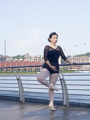 Portraits of a Ballet Student (syfleur) Tags: portrait ballet singapore outdoor boardwalk harbourfront sentosa