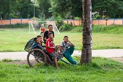 Boys in the Yard 6065 (Ursula in Aus - Away) Tags: thailand thep maehongson
