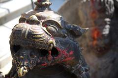 Dragon Guard at Swayumbhunath (Jgunns91) Tags: travel nepal travelling religious temple nikon asia peace buddhism wanderlust explore discover natgeo swayumbhunath
