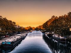 L'Orb (Nyvek67) Tags: water boats lumix canal eau orb panasonic bateau jpeg ll