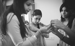 Getting Ready 2 (Revant Photoplay) Tags: wedding portrait india photoshop canon 50mm groom bride marriage canon5d weddings chennai bridegroom tamil tamilnadu lightroom weddingphotography