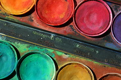 Palette (notpushkin) Tags: watercolours farben wasserfarben macromondays beginswiththeletterp
