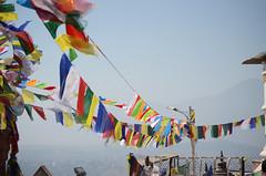Prayer Flags (Jgunns91) Tags: travel nepal travelling religious temple nikon asia peace buddhism wanderlust explore discover natgeo swayumbhunath