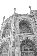C350D-IMG_2976-PR Canon EOS 350D Agra India (Nic (Luckypenguin)) Tags: world travel vacation blackandwhite bw india holiday tourism monochrome monocromo noiretblanc tajmahal agra canon350d canoneos350d canonrebelxt  canondigitalcamera  travelphotography canoncamera travelphotos monocromatico canonef sigma1850mmf28exdc