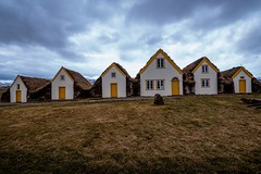 Village (tryggstrand) Tags: world old travel houses windows roof sky orange cloud house color art window beautiful clouds landscape landscapes iceland spring nikon flickr village cloudy wideangle april tamron 500px instagram