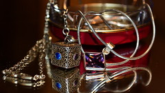 P - Pendants (Zsofia Nagy) Tags: macro silver dof indoor jewelry depthoffield p pendant macromondays d3100 beginswiththeletterp