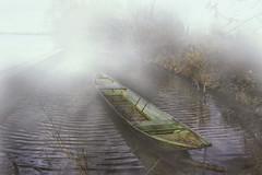 Early Boat Trip (pwendeler) Tags: rio misty fog river landscape boat barca nebel rivire paysage fluss landschaft schiff niebla brouillard lancha paisage neblig