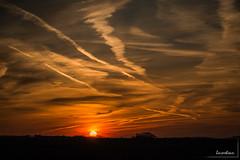 Coucher de soleil gers (icodac) Tags: backlight canon soleil ciel contrejour ombres gers soleilcouchant eos70d nogaroulet