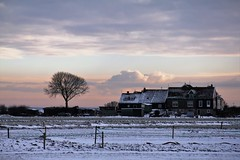 winter landschap (winter landscape), Moeniswerf, Marken (C. Bien) Tags: winter snow holland ice netherlands iceskating sneeuw skating nederland marken ijsselmeer noordholland waterland ijs schaatsen northholland gouwzee laagholland moeniswerf moeniswerfmarken