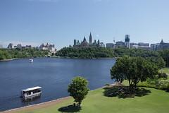 Ottawa River (Dawn Coyote) Tags: river boat ottawa parliamenthill ottawariver