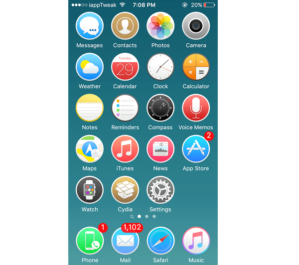 Theme មូលៗទាំង 5 សម្រាប់ iPhone ឃើញហើយមិនសរសើរថាស្អាតមិនបាន!