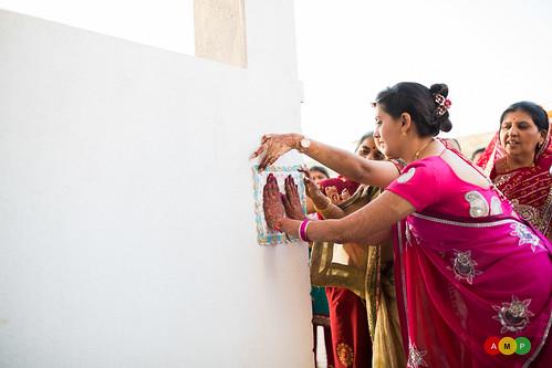 A ritual in the Bidai ceremony