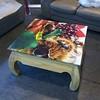 sticker on #woodtable #table #printinghouse #artdeco... (benoitdenuit) Tags: table sticker decoration printing artdeco autocollant woodtable printinghouse uploaded:by=flickstagram impressiondigitale instagram:photo=11610469207319722932198299755