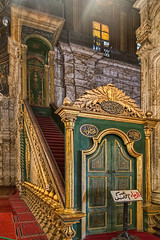 Mosque of Muhammad Ali, Cairo, Egypt (bfryxell) Tags: egypt cairo alabastermosque minbar mosqueofmuhammadali citadelofsaladin