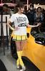 Noa (byzanceblue) Tags: cute girl yellow lady lotus evora motorshow rq supergt racequeen tokyoautosalon gt300 水谷望愛 noamizutani 東京オートサロン2016