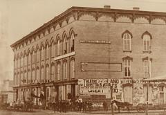 Old Pettibone Block, Corner Cook and DeWitt