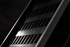 justice is sold to the highest bidder (Tony Macrellis) Tags: bw adelaide cbd refelection blacksky sapol