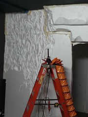 Bat cave build (Pywackyt) Tags: props bats sculpting texturing setdec scenicdesign setdecorating setbuilds