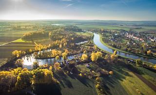 Slepá ramena řeky Moravy / Morava oxbows