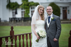 Husband and wife. Kat and Oli's wedding day - photography and videography by Veiled Productions - wedding photography and videography Cambridgeshire