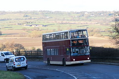 Unknown School Bus X585 XKH 3rd February 2016 (ex EYMS 660) (asdofdsa) Tags: travel bus coach outdoor yorkshire transport leeds passengers hills vehicle schoolbus harrogate uphill hillclimb otley harewood eyms alexanderalx400 rossettschool dennistridentii