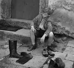 Long Live the Republic - The other angle (theirhistory) Tags: door history church boys stone shirt kids children europe boots internet mat step jacket shorts wellies rubberboots newsreel