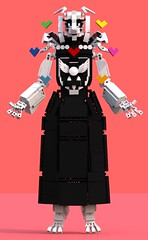 Asriel Dreemurr 14 (pb0012) Tags: game monster video lego character goat indie videogame ldd asriel indiegame undertale asrieldreemurr dreemurr