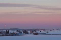 Sunset over Hochmoessingen (winkler.roger) Tags: sunset rural germany landscape blackforest hochmoessingen