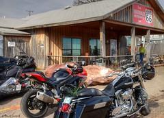 Route 66 - Restaurant (zendt66) Tags: 6 oklahoma bike restaurant photo route66 nikon motorcycle theme boundary weekly six hdr arcadia photomatix zendt d7200 zendt66 52weeks2016