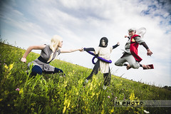 20150605-0218-Colossal-Naruto_sanin-M1 (m1photo) Tags: anime cosplay manga naruto jiraiya orochimaru tsunade sannin colossalcon