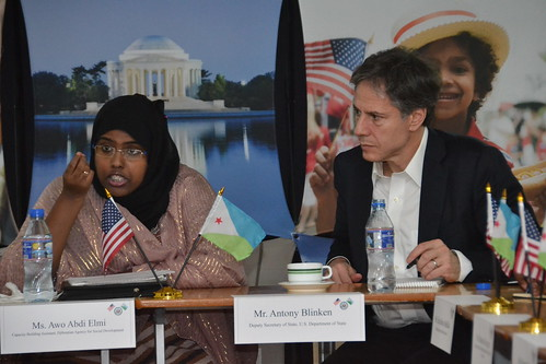 Deputy Secretary Blinken Participates in a Countering Violent Extremism Forum With Djiboutian Youth and YALI Network Alumni in Djibouti City