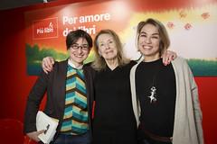 Chiara Valerio, Annie Ernaux ed Elena Stancanelli a Più libri più liberi 2015