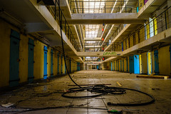 H15 (2) (geert.dehert) Tags: urban abandoned architecture wasted exploring neglected cell adventure explore prison forgotten urbanexploration jail forsaken facility gaol urbanexploring penitentiary urbex correctional correctionalfacility womensprison prisonbreak urbanexplorer